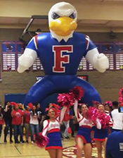 EAGLE MASCOT TUNNEL