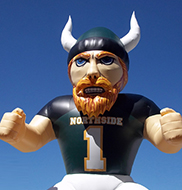 Viking Mascot Inflatable Tunnel